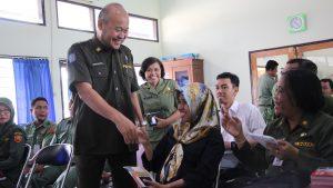 Pengarahan Admin PPID/Admin Subdomain Oleh Kepala Dinas Kominfo